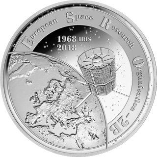 20 Euro 2018 50 Jahre Satellite Esro 1 Weka Münzhandels Gmbh